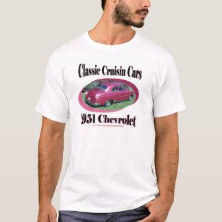 Voitures classiques de Cruisin Chevrolet 1951 T-shirt