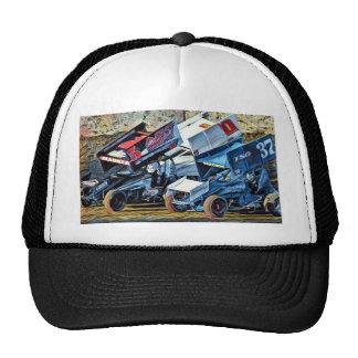 Voitures de course casquettes de camionneur