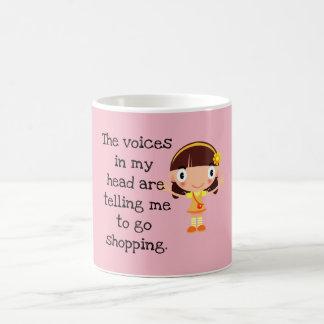 Voix dans ma tête ---Achat - tasse de café