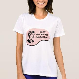 Voix d'audiologiste t-shirt