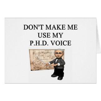 Voix de PHD Carte De Vœux