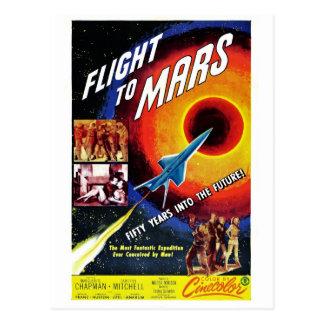 """""""Vol carte postale à Mars"""""""