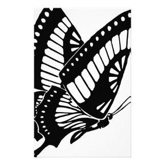 Vol de papillon dans le vent papeterie