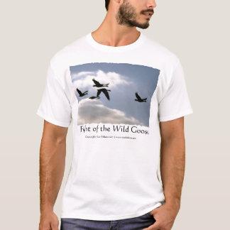 Vol du T-shirt sauvage de l'oie |