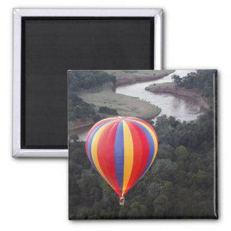 Vol en montgolfière au-dessus de la rivière de Mar Magnet Carré