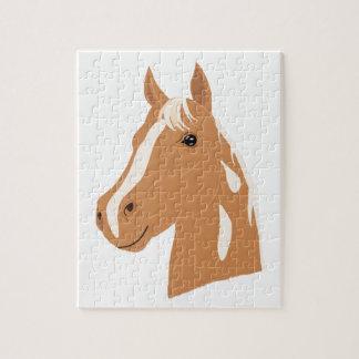 Vol rouge le cheval heureux puzzle