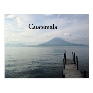 Volcan par le lac Atitlan Guatemala Cartes Postales
