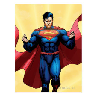 Voler de Superman Carte Postale