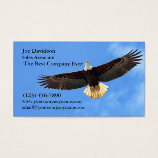 Voler d'Eagle Cartes De Visite