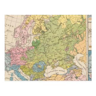 Volkerkarte von Europa, carte de l'Europe
