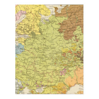 Volkerkarte von Russland - carte de la Russie