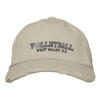Volleyball - ajoutez votre école casquette brodée