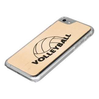 Volleyball Coque En Bois iPhone 7