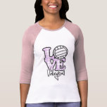Volleyball d'amour t-shirts