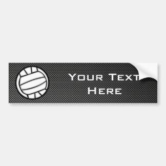 Volleyball de fibre de carbone de Faux Autocollant De Voiture