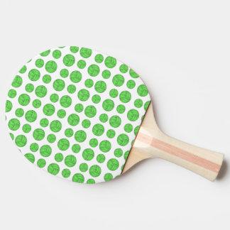 Volleyballs verts raquette tennis de table