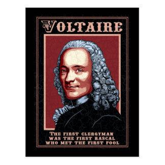 Voltaire - le premier carte postale
