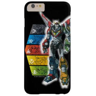 Voltron   Voltron et pilotes graphiques Coque iPhone 6 Plus Barely There