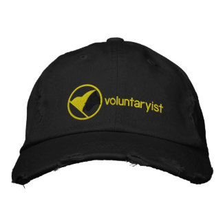 Voluntaryist a brodé le casquette