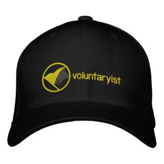 Voluntaryist a brodé le casquette casquette brodée