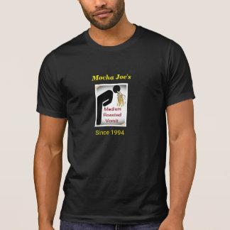 Vomi : T-shirt d'humour de café (noir)