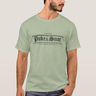 """Vomissez et morve """"que j'apprécie vomis et t-shirt"""