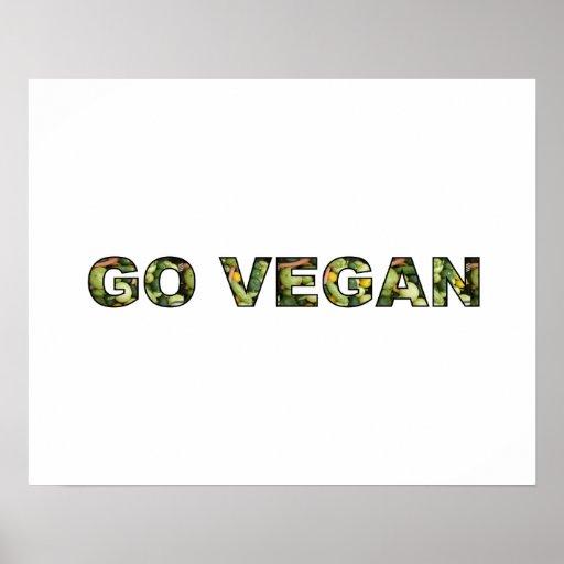 Vont le végétalien posters