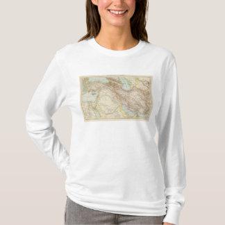Vorderasien, Persien - Asie mineure et carte de T-shirt
