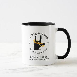 Vos ailes étaient tasse de café 11oz baguée prête