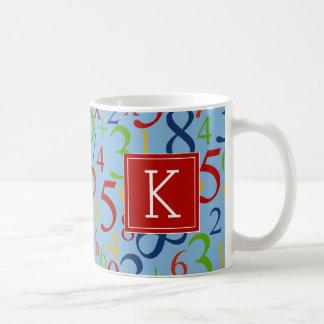 Vos maths | colorées initiales mug