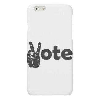 Vote d'illustration pour la paix