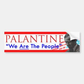 Vote Palantine de la décision 2012 nous sommes les Autocollant Pour Voiture