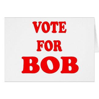 Vote pour Bob - Bob Katter, politicien australien Carte De Vœux