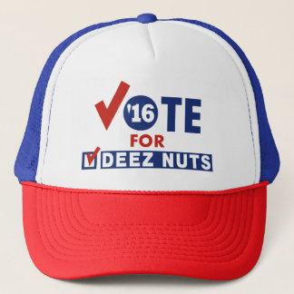 Vote pour des écrous de Deez Casquette