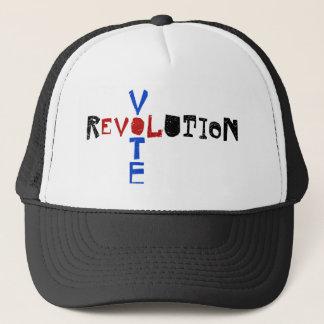 Vote pour la révolution casquette