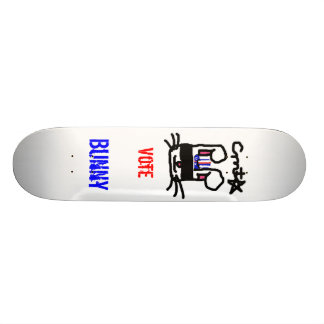 Vote pour le lapin skateboards cutomisables
