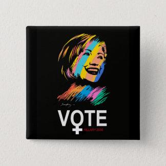 voteHILLARY2016 Pin's