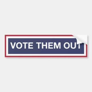 Votez-les ! Votez le GOP ! Résistez à l'atout ! Autocollant De Voiture