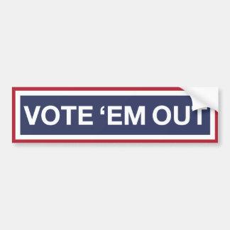 Votez-les ! Votez le GOP ! Résistez à l'atout ! Autocollant Pour Voiture