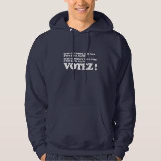 Votez ! veste à capuche