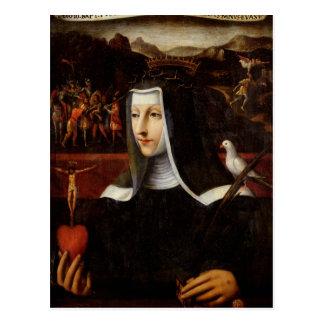 Voto ex a consacré à St Catherine de Sienne Cartes Postales