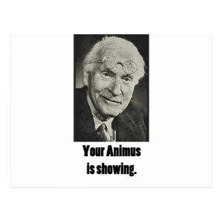 Votre animosité montre carte postale