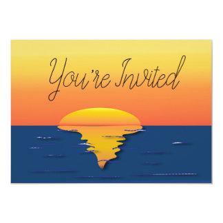 Votre carte invitée de coucher du soleil
