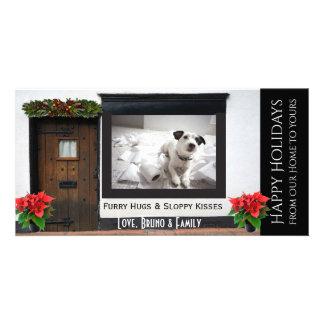Votre côté vilain de carte de Noël d'animaux