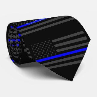 Votre drapeau fait sur commande mince des USA de Cravates