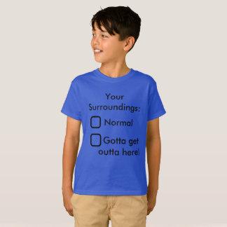 Votre école drôle de T-shirt d'enfants d'environs