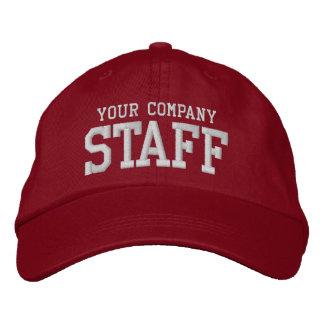 Votre employé promotionnel de vente de personnel casquette brodée