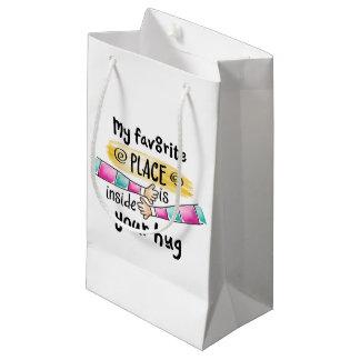 Votre étreinte mon sac préféré de cadeau de