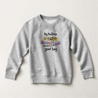 Votre étreinte mon sweatshirt préféré de l'endroit