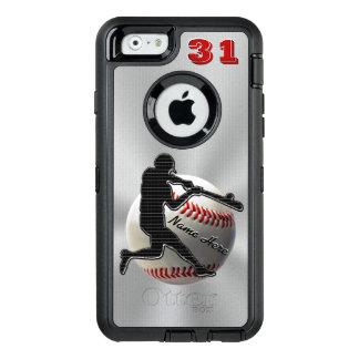 Votre iPhone de NOM et de NOMBRE 6 cas de Coque OtterBox iPhone 6/6s